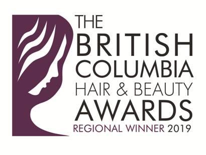 Ashley's Esthetics Regional Winner BC Hair & Beauty Awards 2019