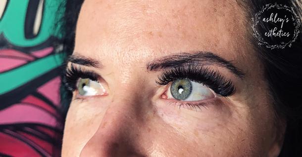 Mega Volume eyelash extensions kelowna