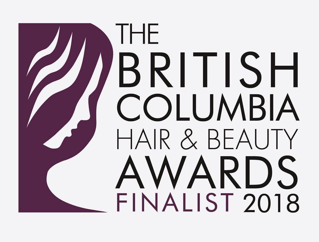 Ashley's Esthetics Finalist Badge - The British Columbia Ha
