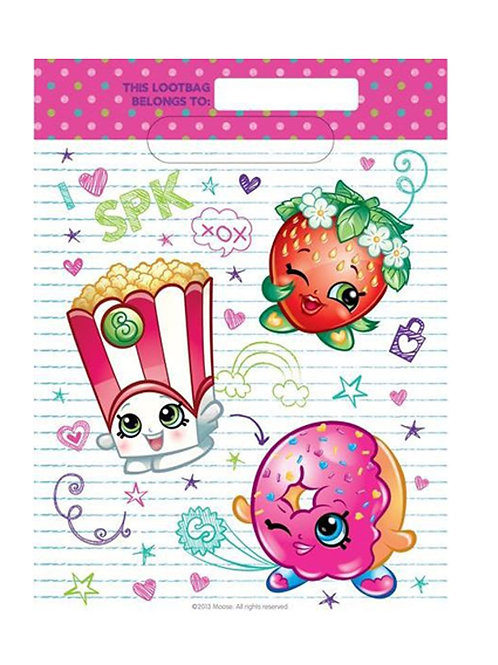 Shopkins party Loot bags pack 18 kids favor bags