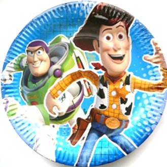 Toy Story 3 party paper plates pk 8