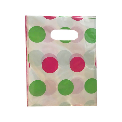 Spotty Party Loot Bag 8 pack