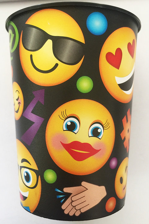 Emoji LOL party favor cup x 1 holds 473 ml