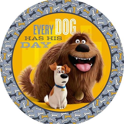 Secret Life of Pets party plates pack 8