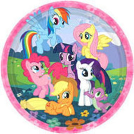 My Little Pony Friendship Magic party plates pk 8