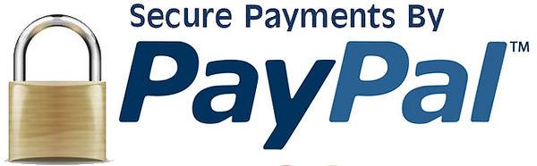 PAYPAL VISA MASTERCARD Secured payments