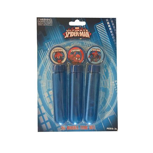 Spiderman Bubbles pack 3