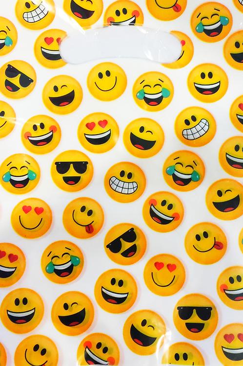 Emoji party bags | Emoji loot bags | Emoji party | kids party supplies | 24-7 Party Paks