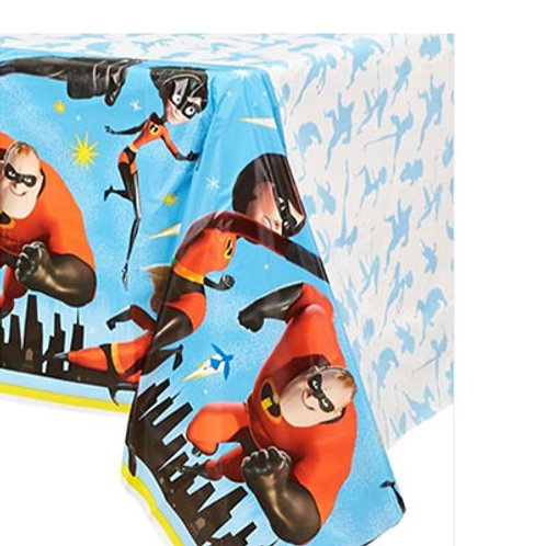 incredibles 2 tablecover | incredibles party tableware | incredible 2 party