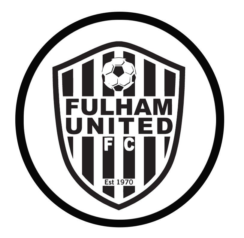 Fulham United soccer club Logo - Print your favourite soccer team