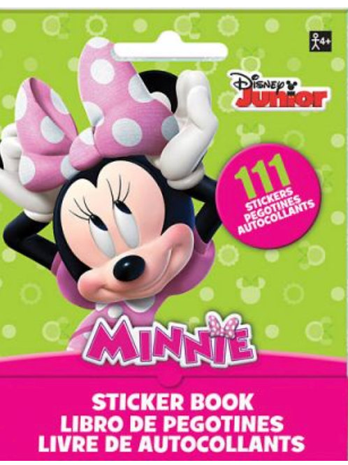 Minnie Mouse party favors | Girls Birthday party | Scrapbooking party | activity stickers | 24-7 Party Paks