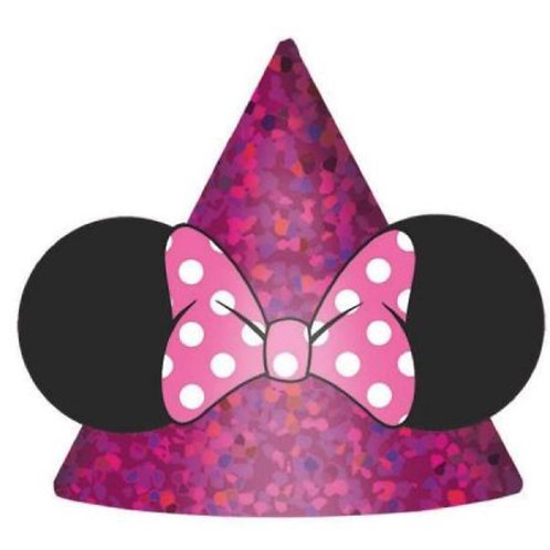 Baby Minnie Mouse party cone hats pac