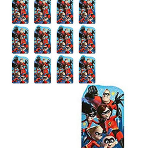 Incredibles notepads | Incredibles party theme | Incredibles party favors | 24-7 Party Paks