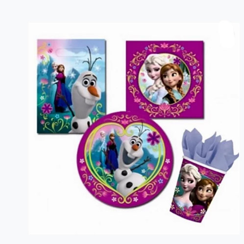 Disney Frozen party packs | girls birthday party pack