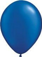 Blue Balloons metallic uninflated pack 10