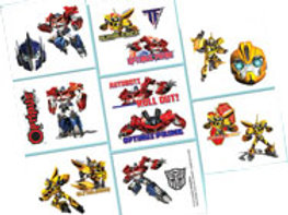 transformers party favors | transformers party tattoos