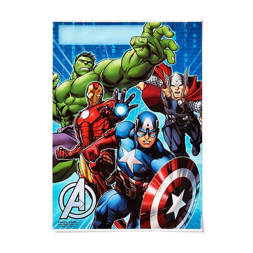 The Avengers party loot bags for your next superhero birthday party
