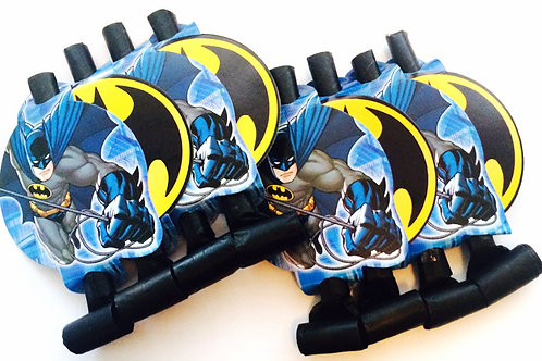 Batman Icon birthday party blowouts pk 8 favors