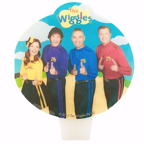The Wiggles birthday candle oval shaped - The Wiggles NEW characters