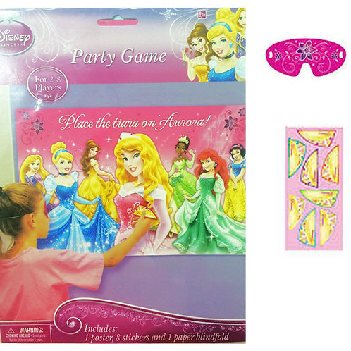 Disney Princess party game - Pin the Tiara Aurora