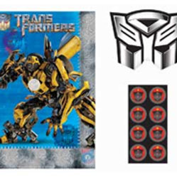 Transformers party game for 8 players | Transformer party supplies | party games | boys parties