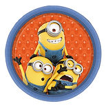Minions party supplies | Despicable Me Minions birthday party plates