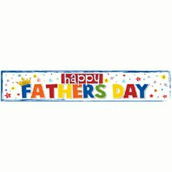 Cool Happy Father's Day banner to decorate your home.