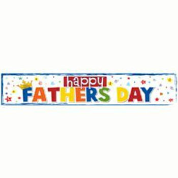 Father's Day banner   Happy Father's Day decoration banner   party decorations   shop display banner   24-7 Party Paks