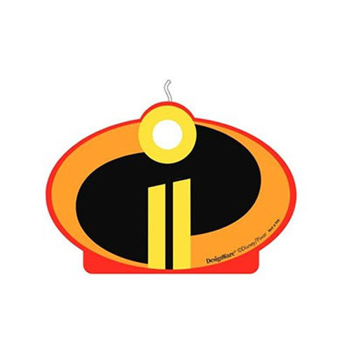 Incredibles candle | Incredibles 2 cake decorations | kids birthday candles | 24-7 Party Paks