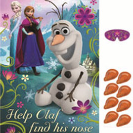 1 x Disney Frozen kids birthday party game for 8 players