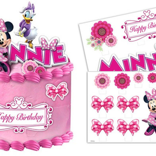 Minnie Mouse Cake Topper