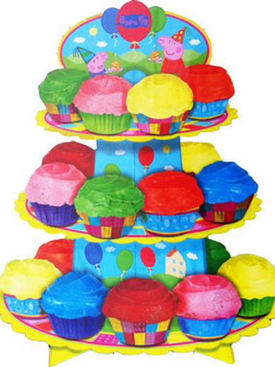 Peppa Pig cupcake stand DIY 3 Tier Stand