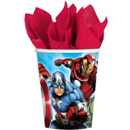 The Avengers party cups - disposable pack of 8