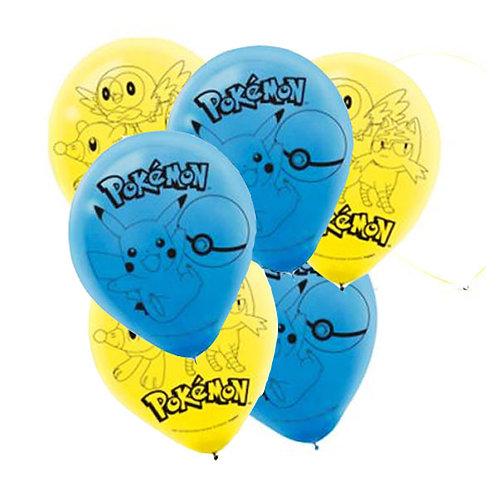 Pokemon balloons | Pokemon party decorations | Pokemon birthday party supplies | 24-7 Party Paks Australia