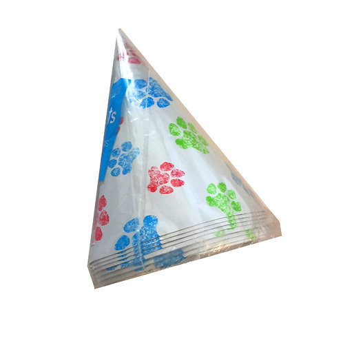 Pawprint Party Hats pack 8