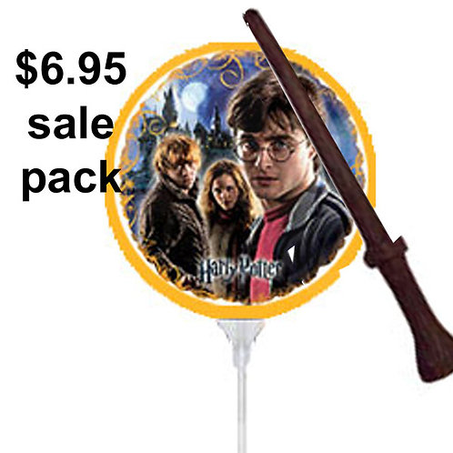 Harry Potter Balloon | Wizards Wand | harry potter party theme | 24-7 Party Paks