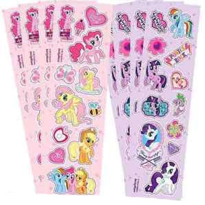 My Little Pony stickers favors loot bag fillers 8