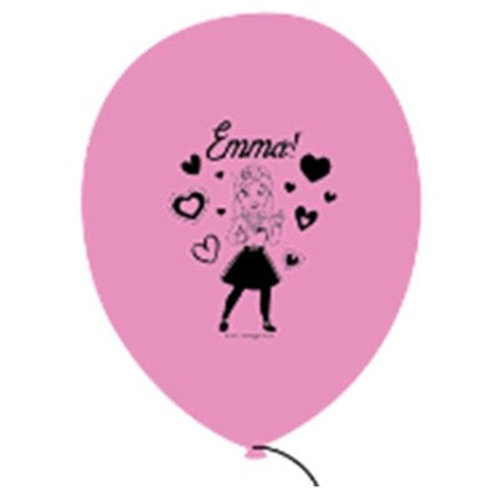 Emma Balloons   Emma Wiggles party   girls party balloons   24-7 Party Paks