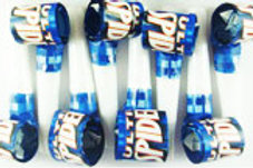 Spiderman party blowouts pk 8 - party noisemakers