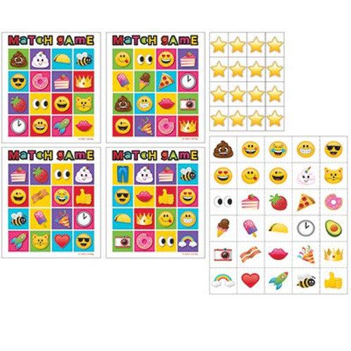 Emoji party game | Emoji Bingo | Emoji Party supplies | 24-7 Party Paks