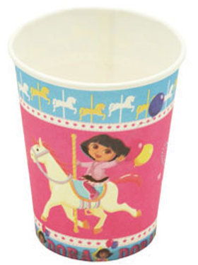 Dora the Explorer party cups | Australia Wide | 24-7 Party Paks kids party shop online