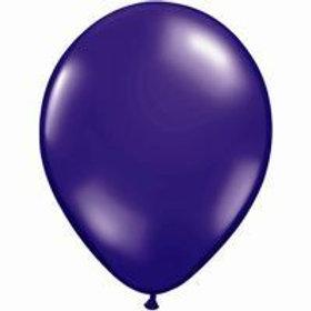 Purple balloons metallic pack 10 uninflated