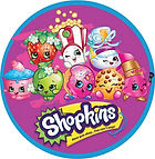 Shopkins party plates napkins cups loot bags Shopkins cake toppers