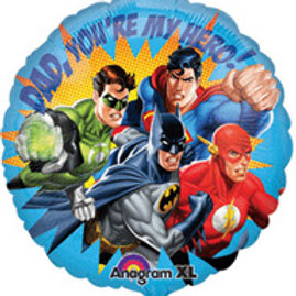 fathers day balloons | fathers day decorations | Superherp balloons | Fathers Day | 24-7 Party Paks