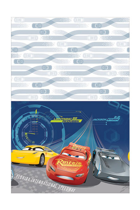 Disney Cars 3 party tablecover | Cars tablecover | Cars party supplies | 24-7 Party Paks