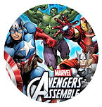 Avengers party supplies - The Avengers party plates Hulk, Thor,Iron man, Captain America