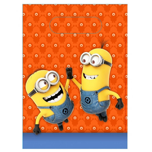 Minions party loot bags to fill with lots of banana lollies - that's what they love !