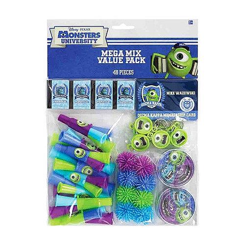 Monsters University mega value mix pack - 48 piece kids party favor pack