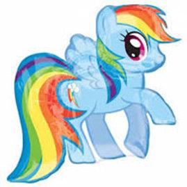 Rainbow Dash foil balloon 71 x 68 My Little Pony