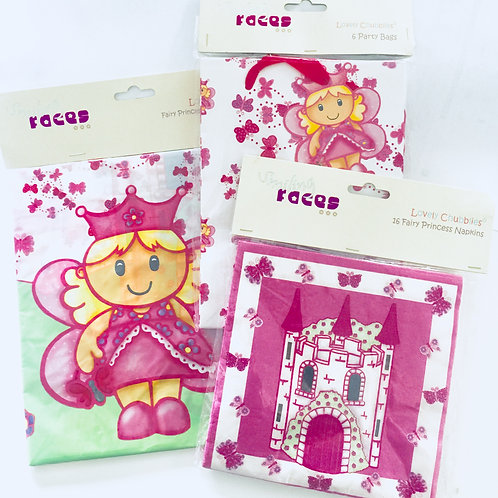 Lovely Chubblies party napkins | Lovely Chubblies Princess party | Princess party | 24-7 Party Paks